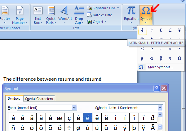 How To Insert Symbols Special Characters In Word Documents The Ides